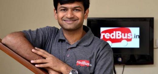 Phanindra Sama, CEO and Founder of redBus.in