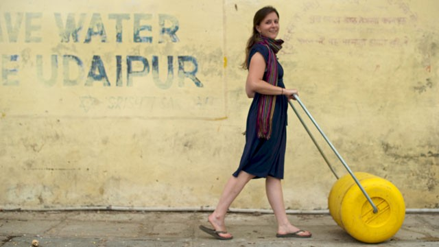 Cynthia Koenig, Founder of Wello Rollable Water Wheel Story