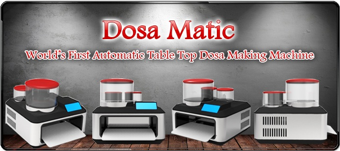 dosamatic automatic dosa maker machine srm university eshwar K Vikas