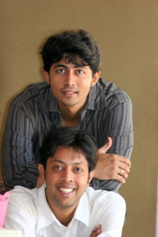 Karthik Kumar and Sunil Vishnu