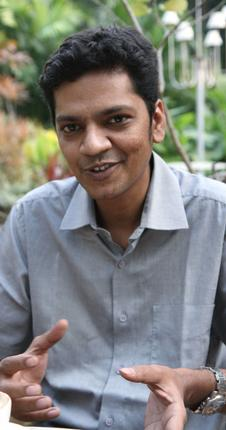 Krishna Chidambaresh, co-founder of Yo! Potato