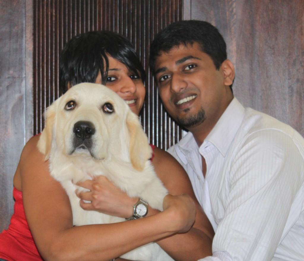 Samira, Arjun and Zoe