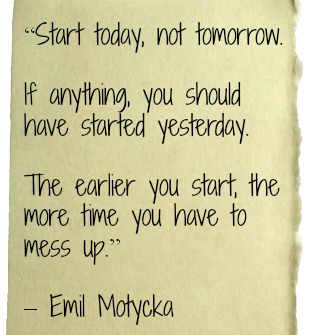 Start-today-not-tomorrow