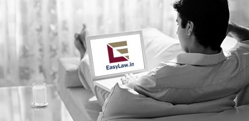 EasyLaw Homepage Image