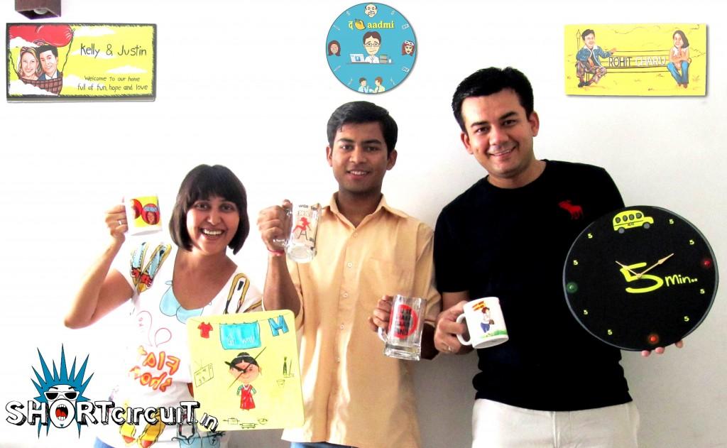 Founding-Team-of-ShortCircuit-Richa-Akash-and-Vipul-1024x631