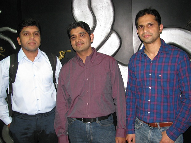 L to R : Senthil Kumar, Vijaykant Nadadue, Aravind Kamath