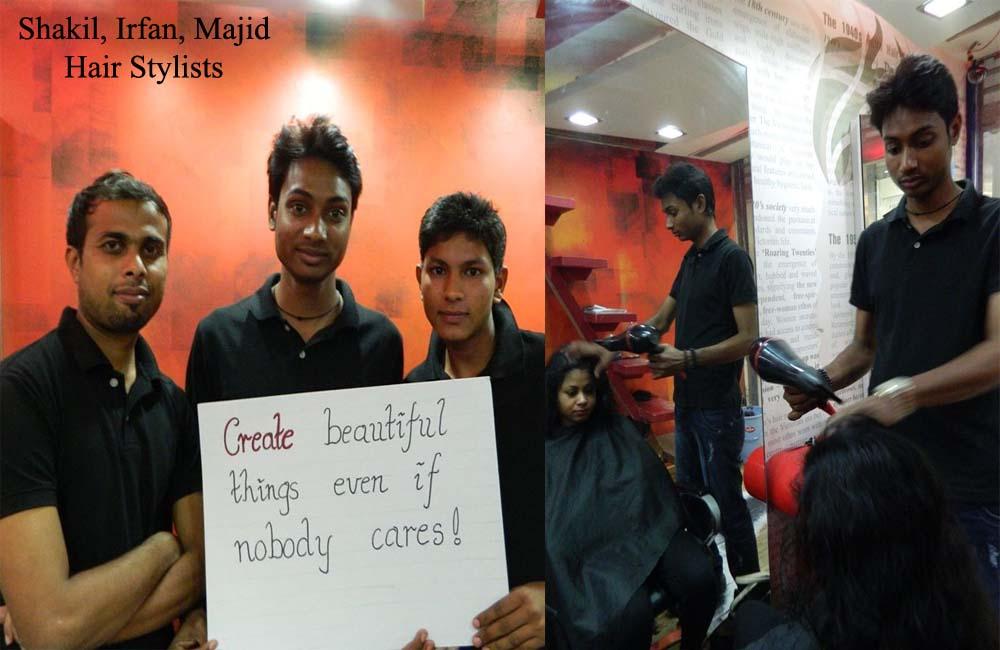 hair stylists f